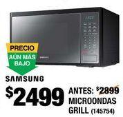 Oferta de Horno de microondas Samsung por $2499