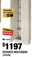 Oferta de Estantes Capelli por $1197