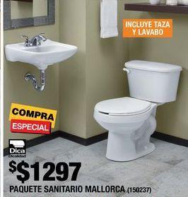 Oferta de Paquete sanitario Mallorca Dica por $1297