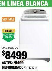 Oferta de Lavadoras Daewoo por $8499