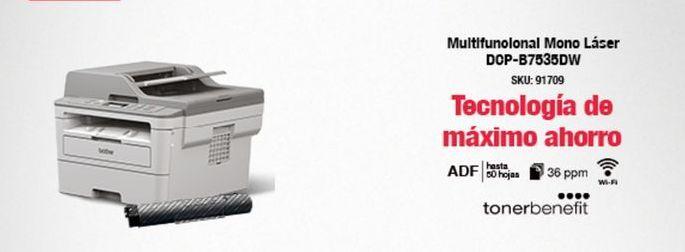 Oferta de Impresora láser por