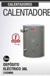 Oferta de Calentador de  agua Rheem 38L por