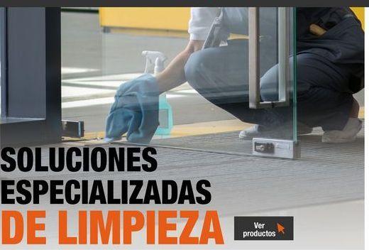 Oferta de Soluciones especializadas de limpieza por