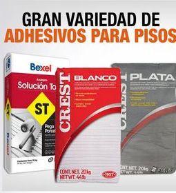 Oferta de Gran variedad de adhesivos para pisos por