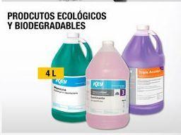 Oferta de Productos ecológicos y biodegradables por