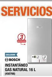 Oferta de Calentador de  agua Bosch 16 L por