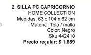 Oferta de Silla de oficina Home Collection por