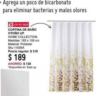 Oferta de Cortina de baño Home Collection por
