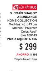 Oferta de Cojines Home Collection por