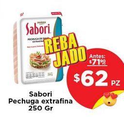 Oferta de Pechuga de pavo Sabori por $62