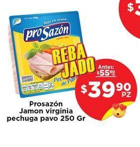 Oferta de Jamón de pavo Pro Sazón por $39.9