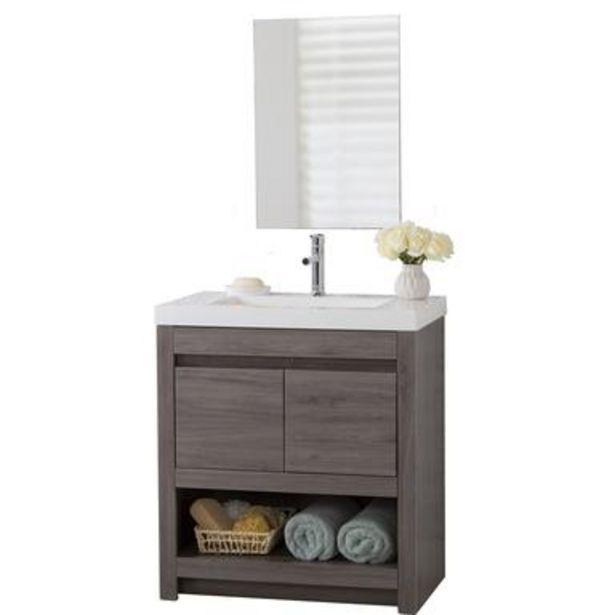 Oferta de Combo de gabinete VAM30P3 para baño por $12