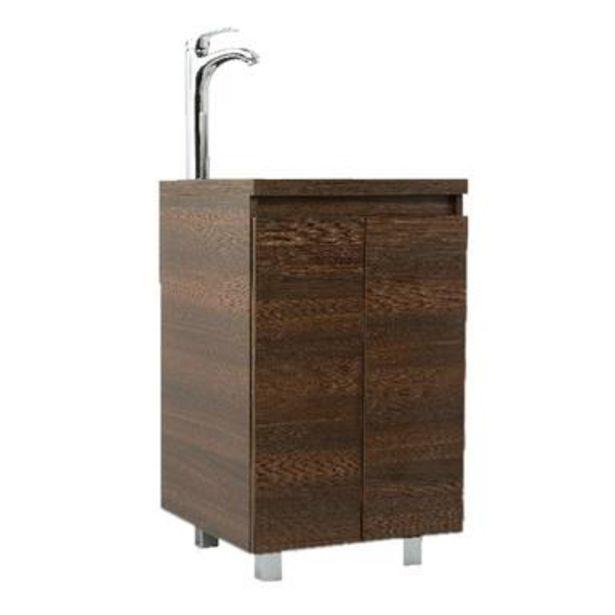 Oferta de Gabinete Bahia 45cm Amaretto para baño por $4