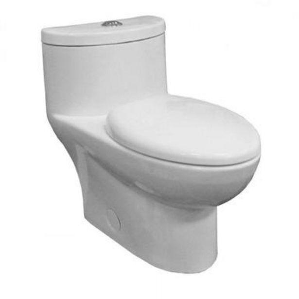 Oferta de Sanitario Tofino one piece blanco incluye asiento de cierre lento por $4