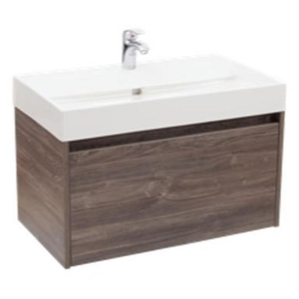 Oferta de Gabinete Fussion 80cm Siena para baño por $10