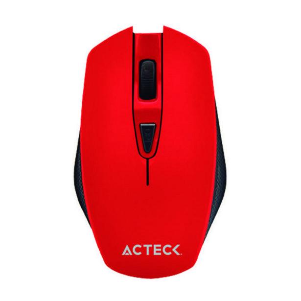 Oferta de Mouse Inalámbrico DPI Ajustable Fire Red por $139