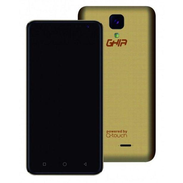 Oferta de Smartphone Q01A Ghia Dorado por $1299