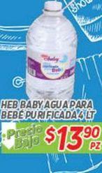 Oferta de Agua HEB por $13.9