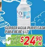 Oferta de Agua Gerber por $24.9