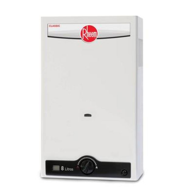 Oferta de Calentador instantáneo gas LP 8 L/min por $3751