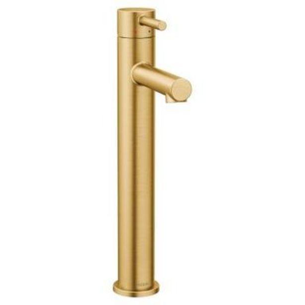 Oferta de Monomando Align para lavabo oro cepillado por $9103