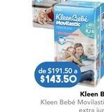 Oferta de Pañales KleenBebé por $143.5