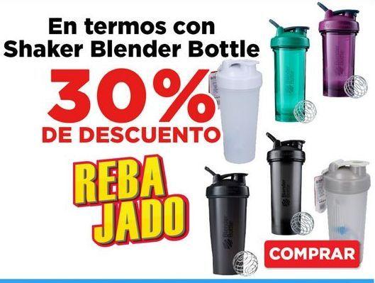Oferta de 30% De Descuento botella de agua por