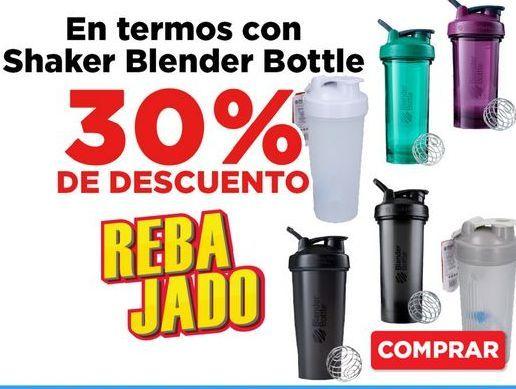 Oferta de 30% Descuento botella de agua por
