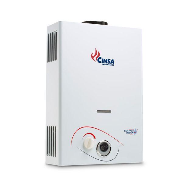 Oferta de Calentador de Agua Cinsa Instantáneo Gas Natural CIN-06: por $2100
