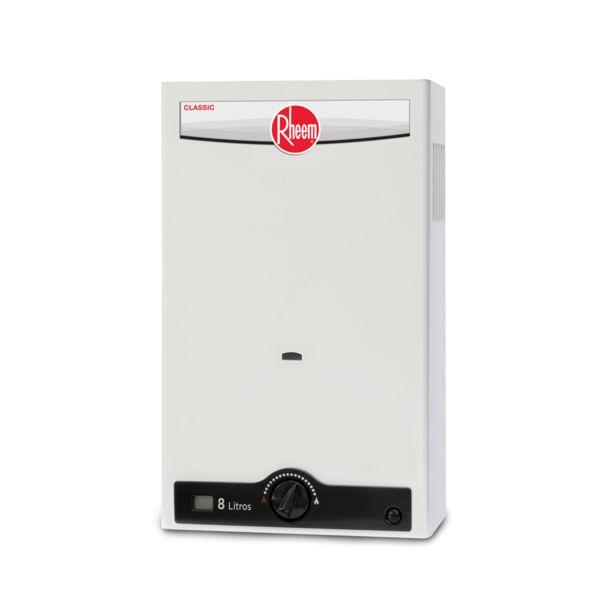 Oferta de Calentador de Agua Rheem Instantáneo Gas Embotellado RHIN-CHL08N: por $2850