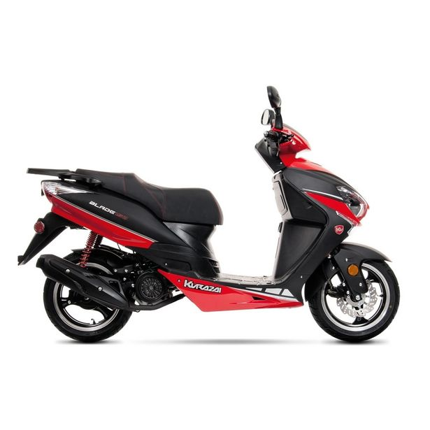 Oferta de Motocicleta Tipo Motoneta Kurazai Blade2 Roja 150 cc: por $24199