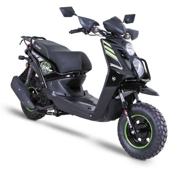 Oferta de Motocicleta Tipo Motoneta Kurazai Razer Negra 150 cc: por $23999