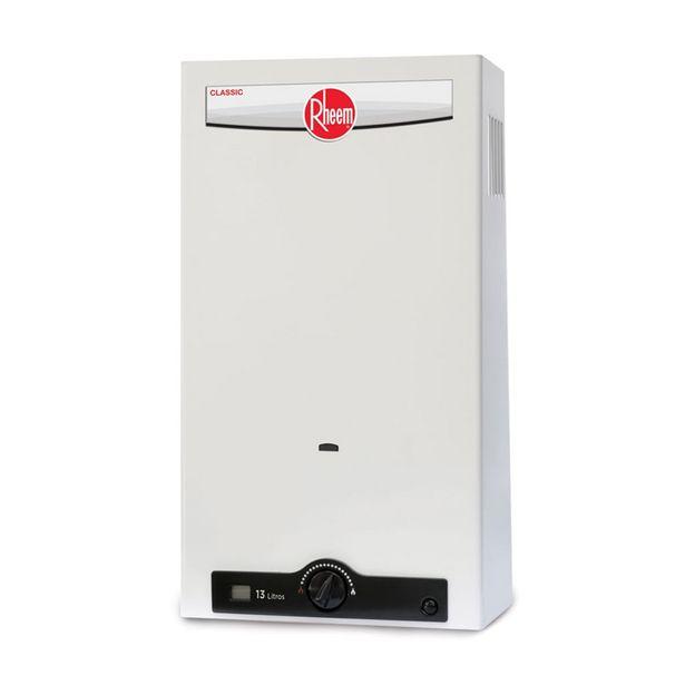Oferta de Calentador de Agua Rheem Instantáneo Gas RHIN-CHL13N: por $3900