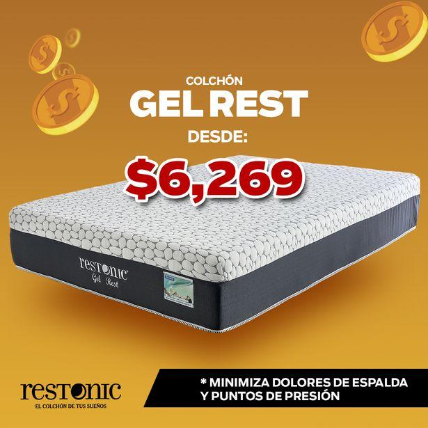 Oferta de Restonic Colchón Gel Rest por $6269