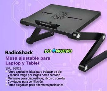 Oferta de Mesa regulable Radioshack por