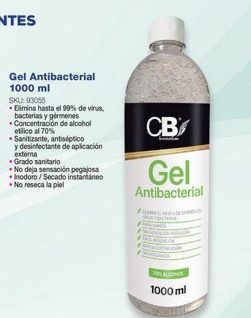 Oferta de Gel antibacterial por
