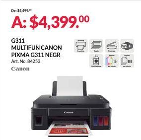 Oferta de Impresora multifunción Canon por