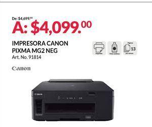 Oferta de Impresoras Canon por