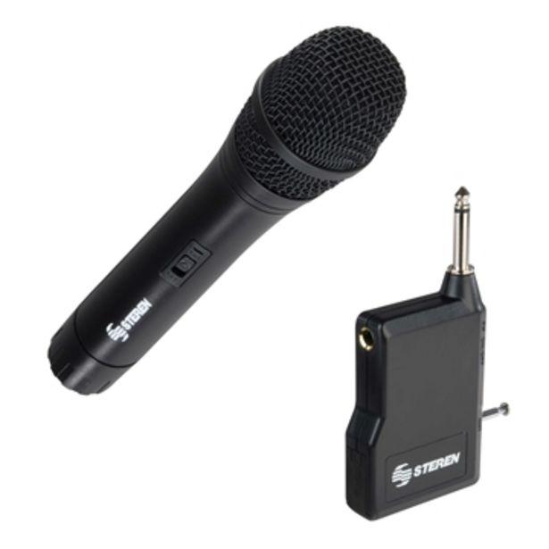 Oferta de Microfono  Steren  Microfono Sterenmic-285 por $543