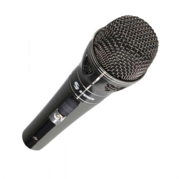 Oferta de Microfono  Steren  Microfono Steren   Mic-060 por $192