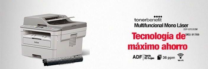 Oferta de Impresora multifunción por