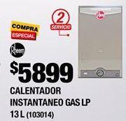 Oferta de Calentador de  agua Rheem por $4579