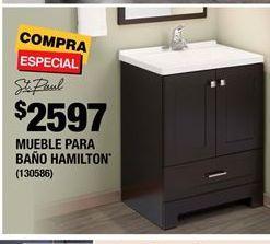 Oferta de Muebles para baño St. Paul por $2597