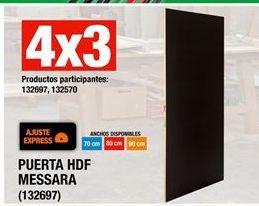 Oferta de 4x3 Puertas por