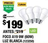 Oferta de Lámpara ahorro Ecosmart por $199