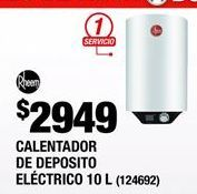 Oferta de Calentador de  agua por $2949