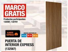 Oferta de Puerta De Interior Express por