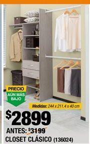 Oferta de Closet Dos Torres por $1997