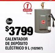 Oferta de Calentador de  agua Rheem por $3799