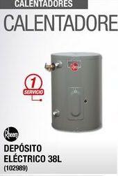 Oferta de Calentador de  agua Rheem por
